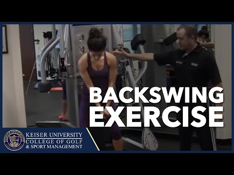 Golf Training – Backswing Exercises Using the Cable Machine