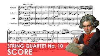 BEETHOVEN String Quartet No. 10 in E-flat major (Op. 74) 'Harp' Score