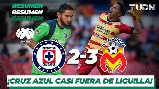 Resumen y goles | Cruz Azul 2 - 3 Morelia | Liga Mx - AP 19 - J 14 | TUDN