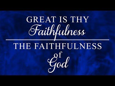 """Great Is Thy Faithfulness, The Faithfulness of God"" - Pastor Merlin Flores, Sr."