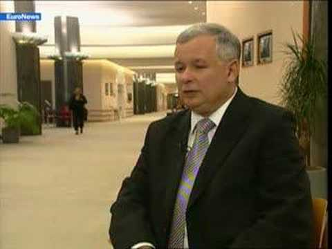 EuroNews - IT - Interview: Jaroslaw Kaczynski