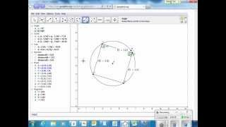 Construct a square inside a circle