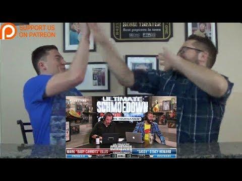 Mark Ellis VS Stacy Howard REACTION! - Movie Trivia Schmoedown Round 1