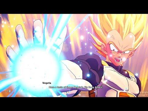 Dragon Ball Z: Kakarot - Goku Becomes Sick & Vegeta Goes Super Saiyan vs Android 19 (DBZK 2020)