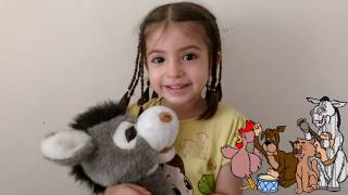 Arkadaşım Eşşek ft Barış Manço . Eğlenceli çocuk videosu .. Mina'nın yorumu :)