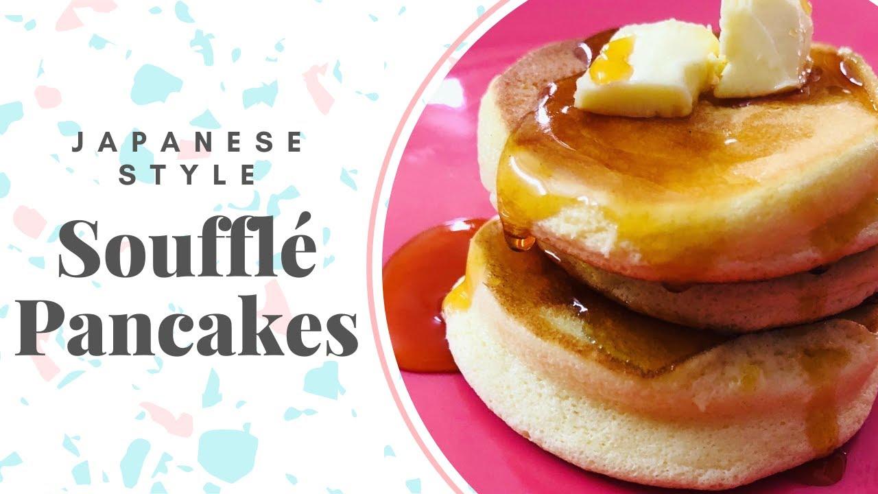 Japanese Style Soufflé Pancakes ︳Fluffy Pancakes Recipe!!!