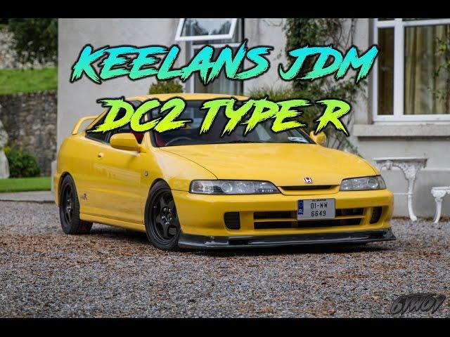 JDM HONDA INTEGRA DC2 TYPE R PHEONIX YELLOW - @keelan92k