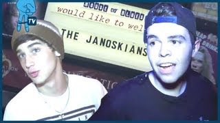 BTS at House of Blues in Los Angeles - Janoskians Takeover Ep 25