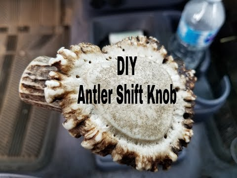 Do It Yourself Antler Shift Knob