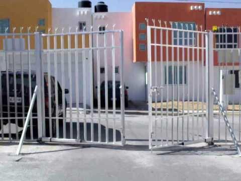 24 automatizaci n de puerta abatible de dos hojas con - Puertas de dos hojas ...