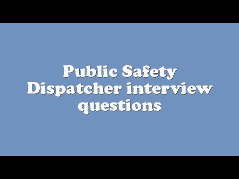 Public Safety Dispatcher Interview Questions   YouTube  911 Dispatcher Interview Questions