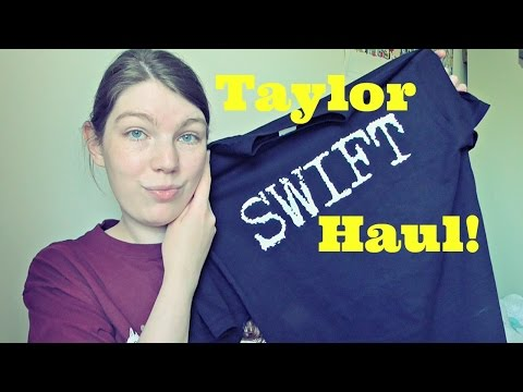 Vintage Taylor Swift Merch Haul 2016 - T Shirts, Photos and More | Kate's Adventures