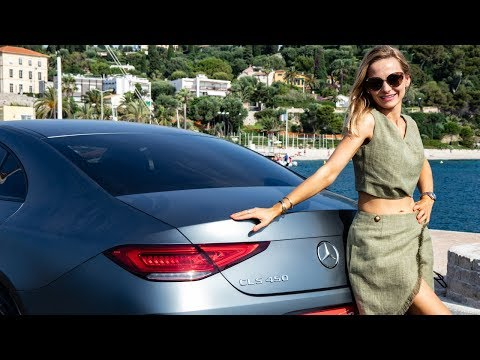 Mercedes-Benz CLS 450 4MATIC COUPE  - the queen goes to Monaco!