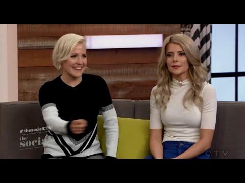 Grace and Hannah on The Social