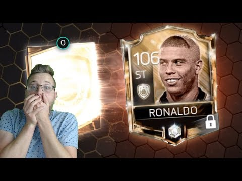 OMG We Pulled The Brazilian Legend Ronaldo! Epic FIFA Mobile Special Icon Pack Opening and Gameplay!