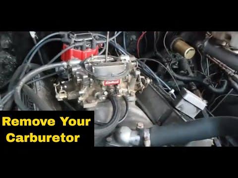 How To Remove A Edelbrock Carburetor