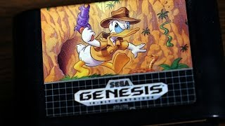 Classic Game Room - QUACK SHOT STARRING DONALD DUCK review for Sega Genesis
