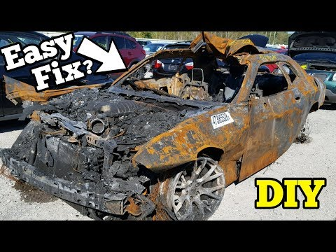 Shotgun Taylor - Can a Fire Ravaged Dodge Challenger Hellcat be Rebuilt?
