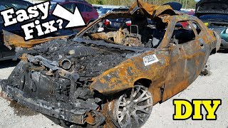 Download Can a $5,000 Fire Salvage Hellcat REALLY Be Rebuilt? Mp3 and Videos