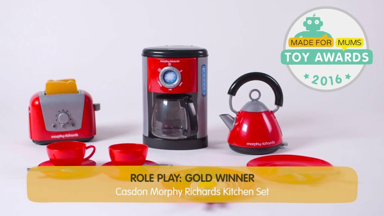 Casdon Morphy Richards Kitchen Set  Gold winner