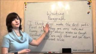 Письмо (ВНО, английский): Параграфы 1, видео урок