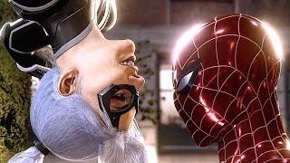 SPIDER MAN PS4 The Heist Black Cat All Cutscenes Full Movie (SPIDERMAN PS4)