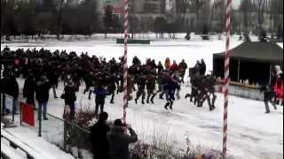iv płmaraton komandosa start 16 02 2013r