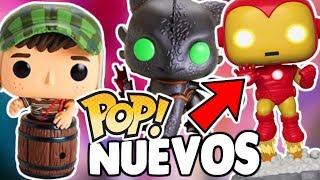 NUEVOS Funko POP Iron Man con LUZ, COMO ENTRENAR A TU DRAGON 3 y MAS