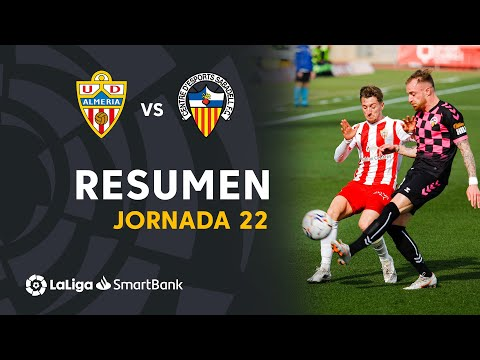 Almeria Sabadell CE Goals And Highlights