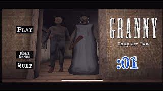 【Granny: Chapter Two】今度はお爺ちゃんも参戦だ!:01