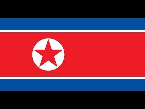 Флаг Корейской Народно-Демократической Республики.