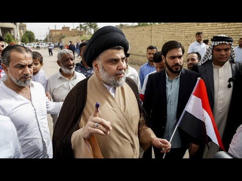 Iraq: Firebrand cleric Moqtada Sadr ahead in parliamentary elections