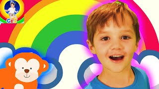 Color Song for Kindergarten Kids Learn Colours with Jack 🌈 Fun Nursery Rhymes and Kids Songs ⭐