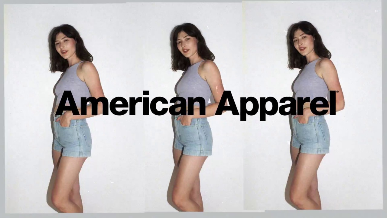 bc44560324f We re Back with High-Waist Cuff Shorts – American Apparel - YouTube