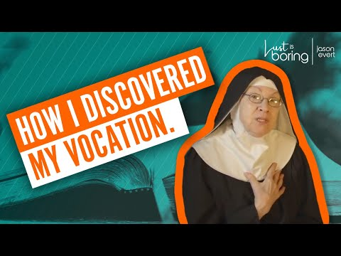 Mother Miriam on why she became a religious sister.