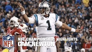 Cam Newton Highlights (NFC Championship) | Cardinals vs. Panthers | NFL