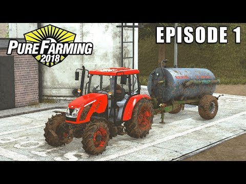 WORKING ON THE LAND | Pure Farming 2018 | Episode 1