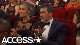 Antonio Banderas' Emmys Award Clap Confuses The Internet | Access