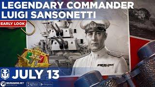 World of Warships Blitz: Early Look at Legendary Commander Luigi Sansonetti