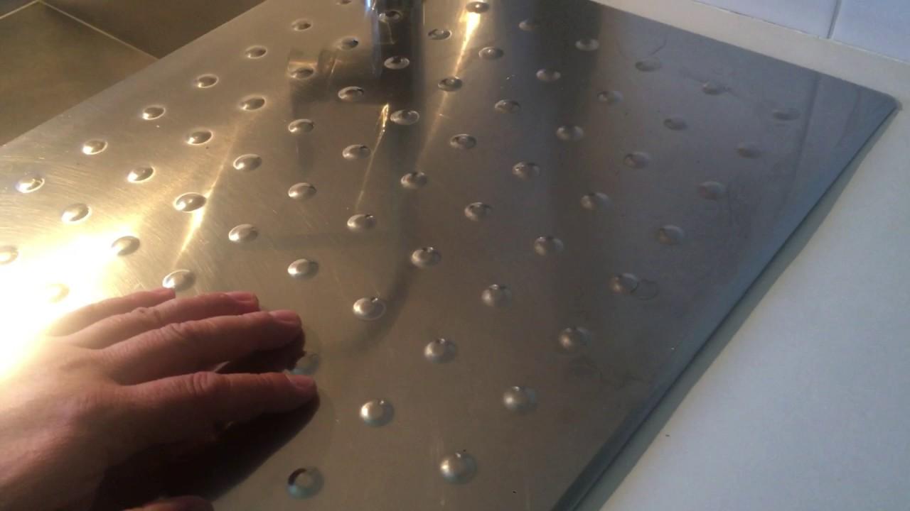 Comment retirer du calcaire sur inox youtube for Comment retirer de la rouille sur du carrelage
