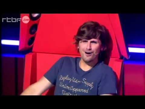 """0 Kurt Cobain reencarnou em um concorrente do """"The Voice"""" belga"""