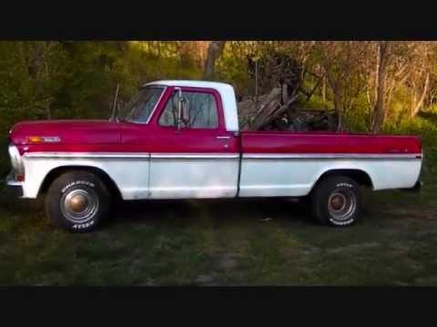 1972 Ford F100 Ranger Xlt Youtube