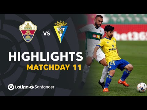 Elche Cadiz Goals And Highlights