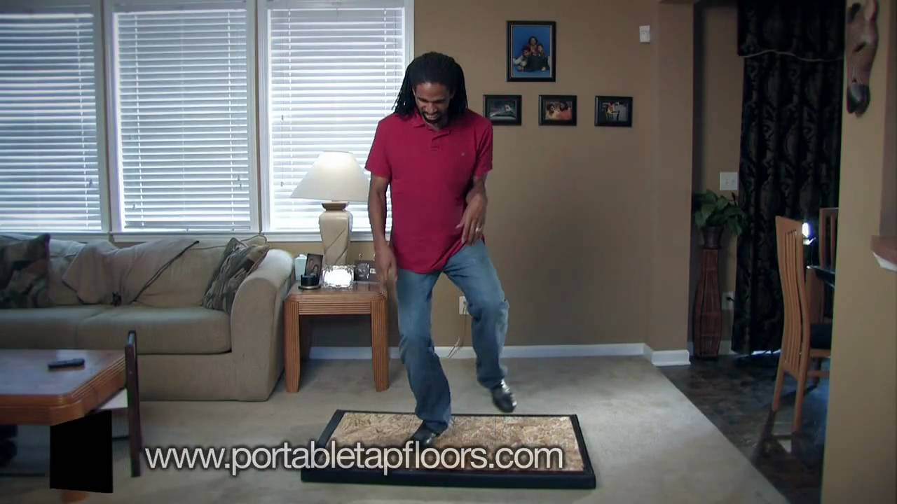Perfect The Portable Tap Floor   YouTube