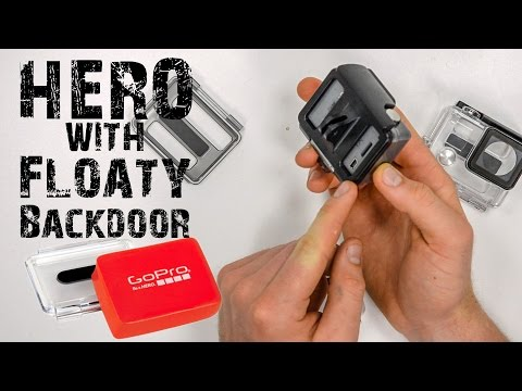 GoPro HERO With Floaty Backdoor