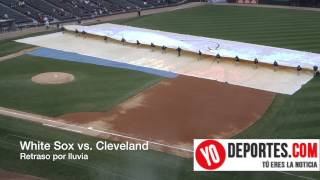 White Sox vs. Cleveland Indians Rain Delay
