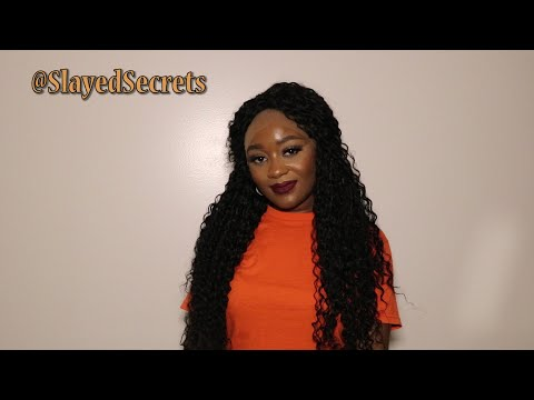 Lace Front Kanekalon Synthetic Fiber Heat Resistant Wig (24 Inches) ft. OseMy | Slayed Secrets thumbnail