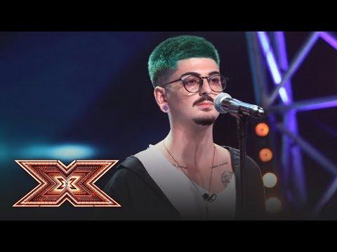 Birdy - Skinny Love. Vezi cum cântă Alexandru Stremițeanu, la X Factor!