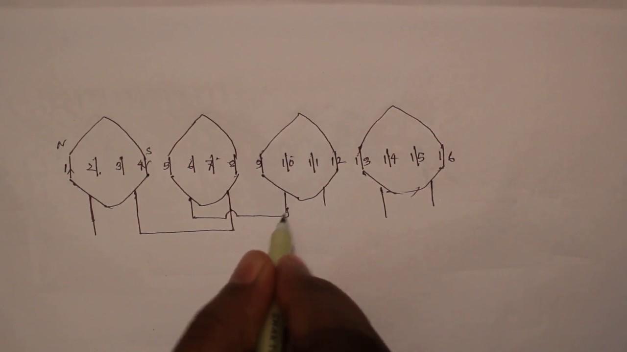 medium resolution of how to make table fan rewinding diagram youtube table fan motor winding diagram