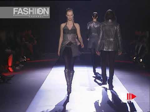 MARTINE SITBON Fall 2003 2004 Paris - Fashion Channel